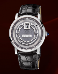 Cartier's Jumping Hours Watch