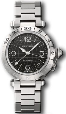 Cartier Pasha C Steel Men's Watch W31079M7