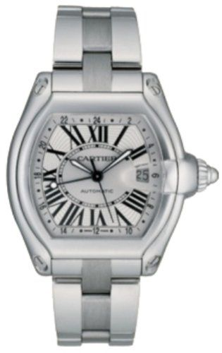 Cartier Roadster Steel Men's Watch W62032X6