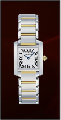 Cartier Tank Francaise Women's Watch W1008Q4