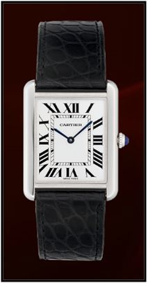 Cartier Tank Solo Steel Men's Watch, W5200003