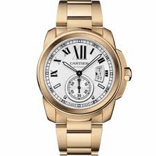 Calibre de Cartier Watch in Pink Gold