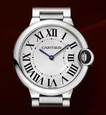 Cartier Ballon Blue Stainless Steel Women's Watch W69011Z4