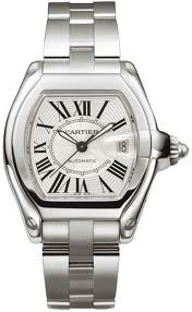 Cartier Roadster Steel Large Men's Watch W62025V3