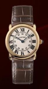 Cartier Ronde Louis Pink Gold Ladies' Watch W6800151
