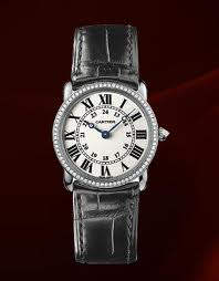 Cartier Ronde Louis White Gold and Diamond Women's Watch WR000251