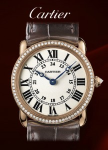 Image - Detail of the Ronde Louis Cartier wr000351 watch
