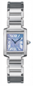 The Ladies Cartier Tank Francaise Steel W51034Q3