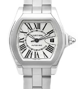 The Cartier Roadster Men's Quartz Stainless Steel W6206017
