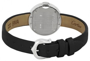 Image- View of the Tang Buckle and Case Back of the Love Watch