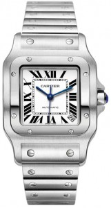 Cartier Santos Galbee Collection Steel Watch W20098D6