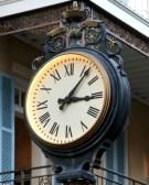 Image - Old-Fashioned Outdoor Clock