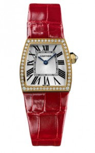 CARTIER LA DONA LADIES GOLD WATCH WE600451