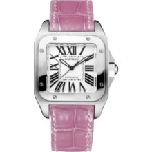 An image of the Cartier Santos 100 Steel W20126X8