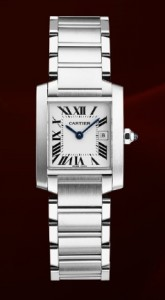 Cartier Tank Française Steel Watch W51011Q3