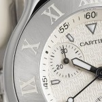 Cartier Must 21 Steel W10184U2 Watch close up