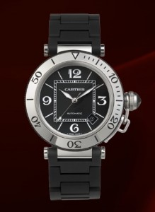 Cartier Pasha Seatimer Watch W31077U2
