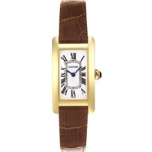 An image of the Cartier Tank Americaine W2601556 women's watch