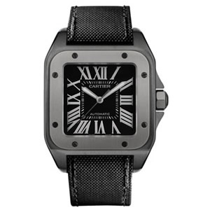 Cartier Men's W2020010 Santos 100 Titanium Watch