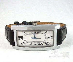 Side view of Cartier Tank Americaine