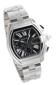 Image of Cartier Roadster Steel W62020X6 Men's Chronograph Watch