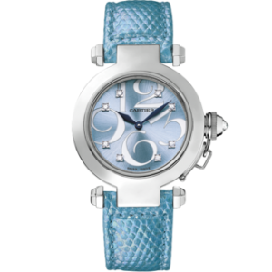 Front of Cartier Pasha Women's Watch WJ123121