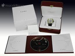 Calibre De Cartier Men's Watch W7100011 packaging