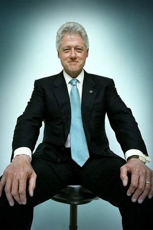 Bill Clinton in Cartier