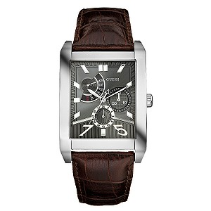 Photo of the Guess Complex Rectangular Dial Men's Watch 6514197